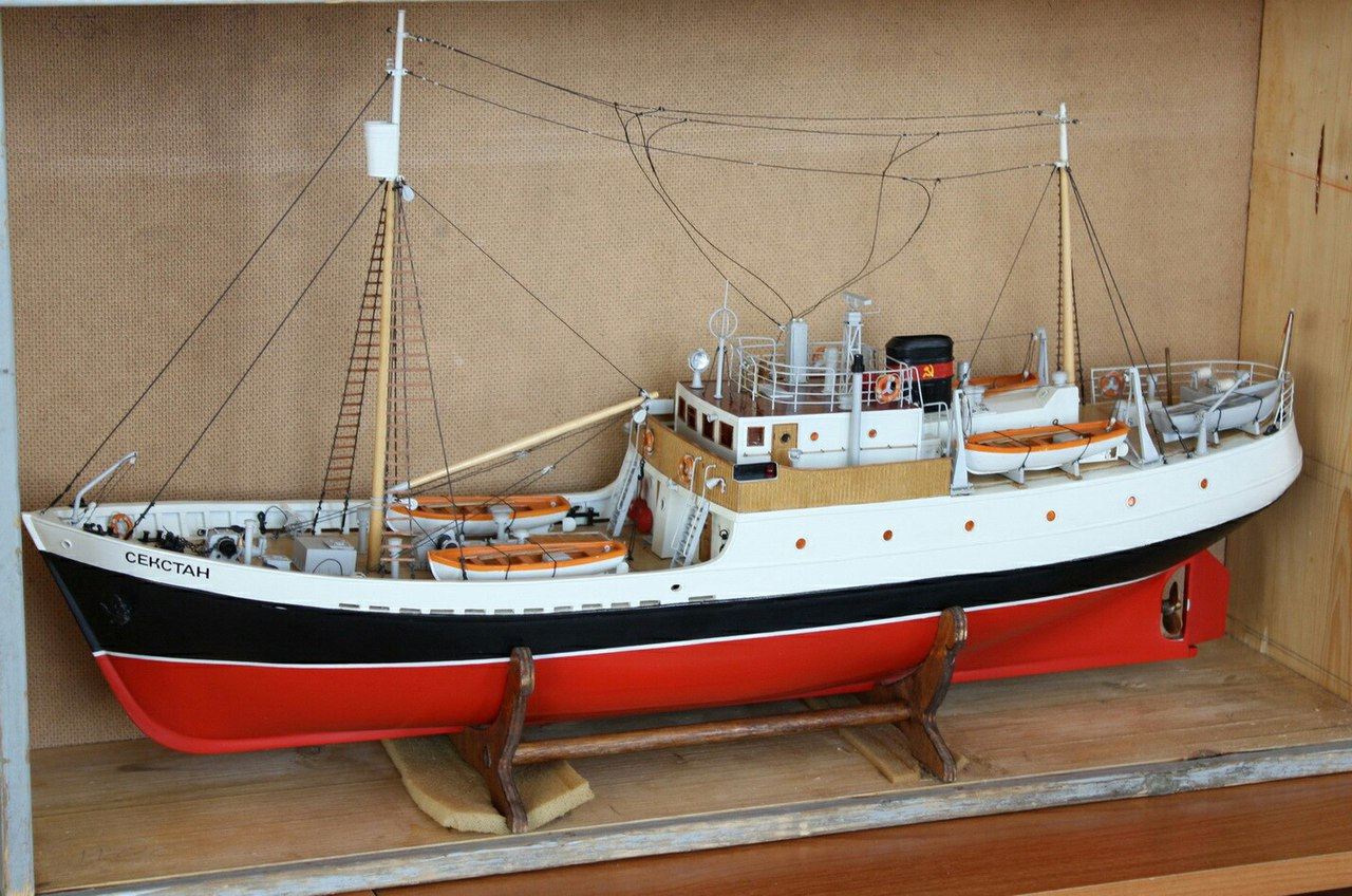 Модели речных судов своими руками 123